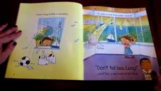 AlaskaGranny Read Aloud: DON'T TELL LIES, LUCY by Phil Roxbee Cox