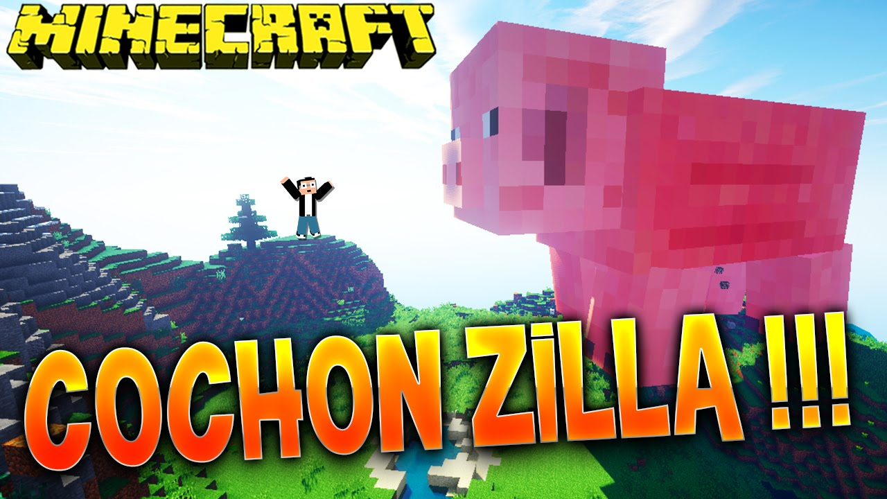 Fanta party mod cochon zilla minecraft mod youtube - Minecraft cochon ...