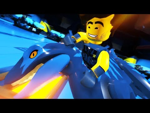 The LEGO Movie 2 Videogame DLC - Rexcelsior 100%! (All Master Pieces)