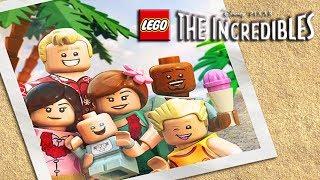 LEGO The Incredibles 2 Full Movie Game English Disney Pixar