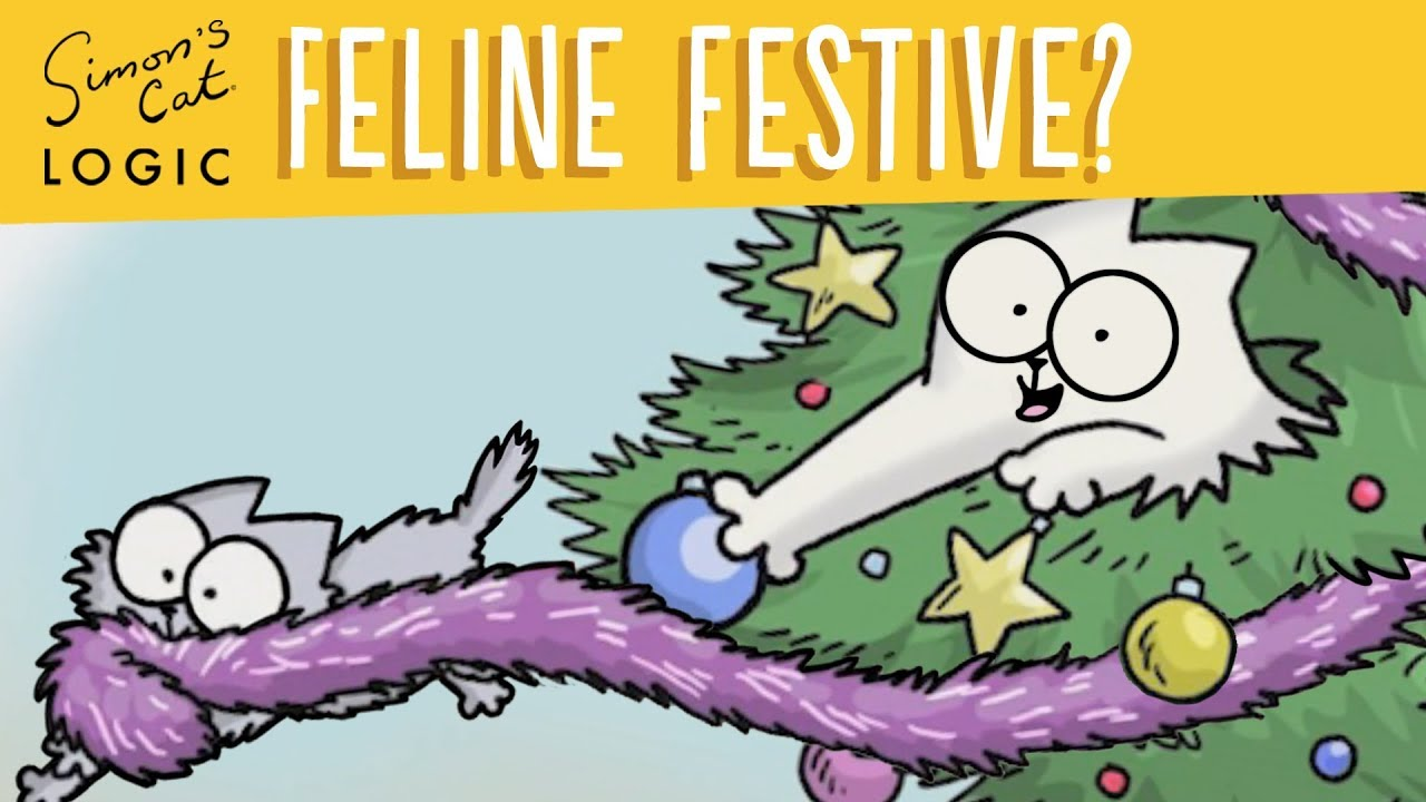 What do cats want for Christmas? – Simon's Cat | LOGIC