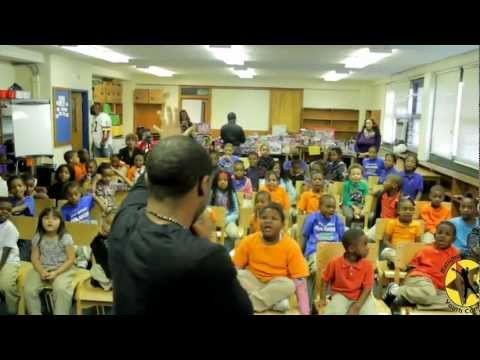 The Inside Skoop w/ B.C.Y.C. Christmas Toy Drive at Gilmor Elementary school
