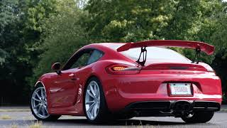 SOUL | Porsche 981 GT4 with SOUL Valved Exhaust +  Extensive Mods