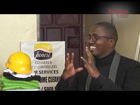 The cleaning business with Anyiti Nanyama Part 1 | The Business Coach