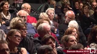 Biennale Musica 2015 - Georges Aperghis Leone d