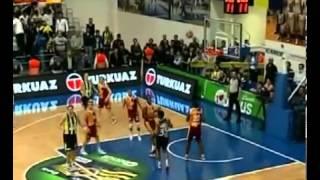 Dokunmadan Rüzgar Tahrikli Faul     Fenerbahçe Galatasaray Bayan Basketbol Ligi Final Serisi 2  Maç