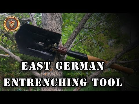 East German Entrenching Tool Review