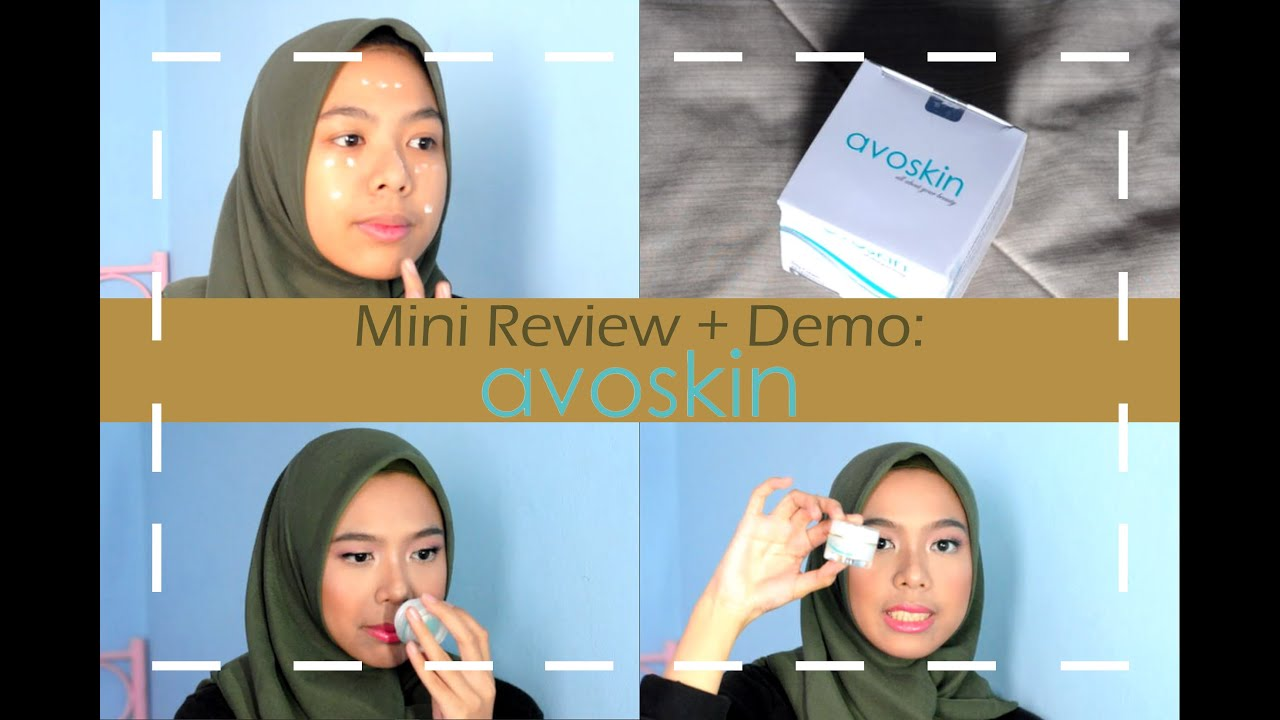 Morning SkinCare Routine Mini Review Demo Avoskin Day Cream untuk Kulit Kering & Berminyak