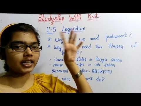 Class 11th Political Science Ch-5(Part-1)||legislature