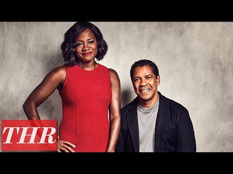 Kareem Abdul-Jabbar Interviews Denzel Washington & Viola Davis Stars of