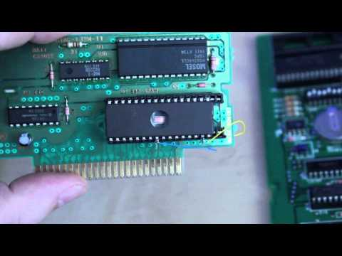 Demonstration Of 27C801 EPROM Cart In The Super Nintendo