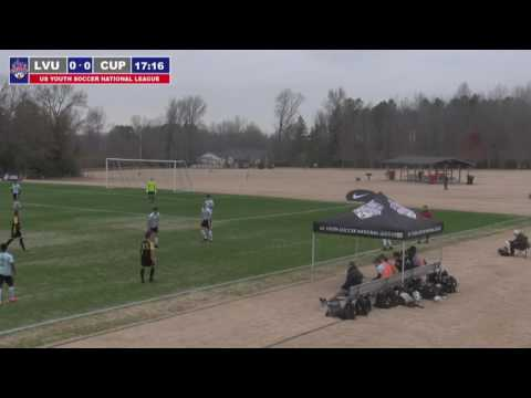 2016 National League - Boys - U17 - LVU 2000 Black vs CUP Gold 00 - Field 1 - Day 1 - 10am