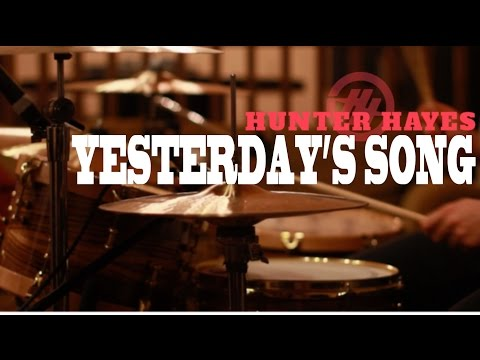 Hunter Hayes - Yeterday's Song (Drum Cover)