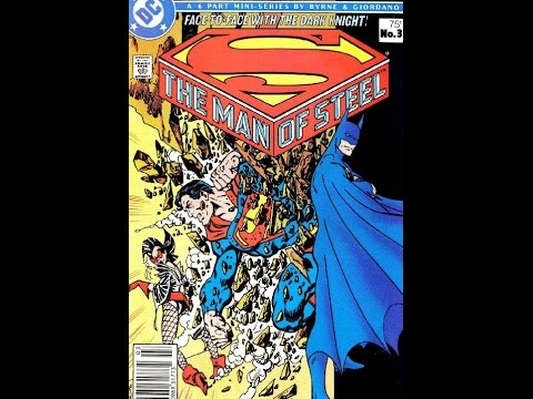 John Byrne Superman Man of Steel Part 2 | Part 2 of 3 | The Comic Vault