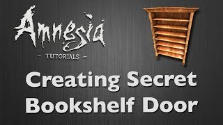 [tutorial] Amnesia - Secret Bookshelf [hd]