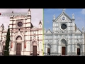 Assassin's Creed 2 Game vs Real Life  - Florence Landmarks Comparison