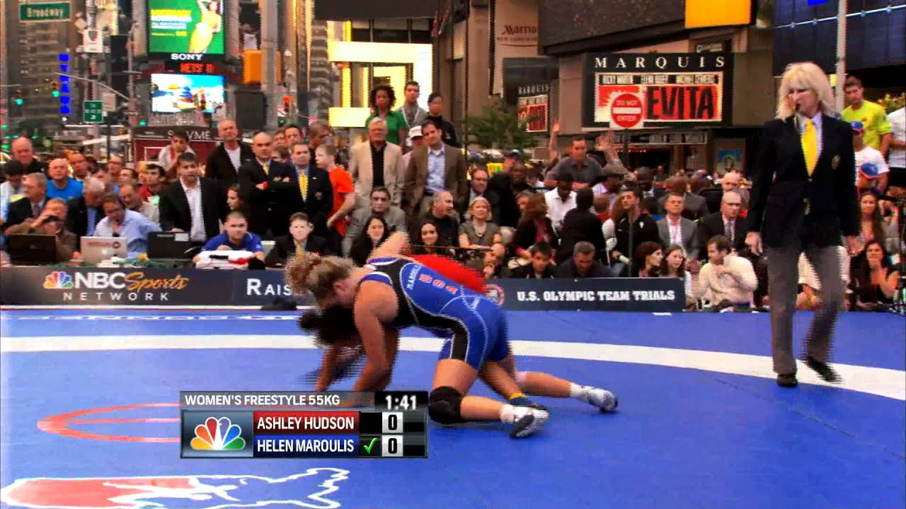 Helen Maroulis beat the streets