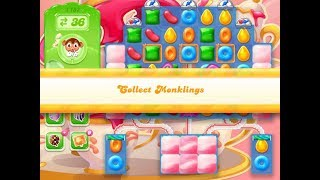 Candy Crush Jelly Saga Level 1157 (3 stars, No boosters)