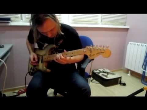 Fender Strat Antigua