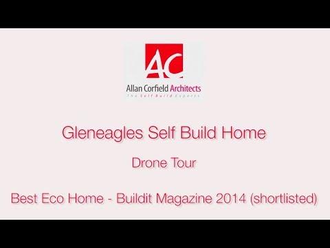 Gleneagles Self Build Home - Drone Tour - Allan Corfield Architects