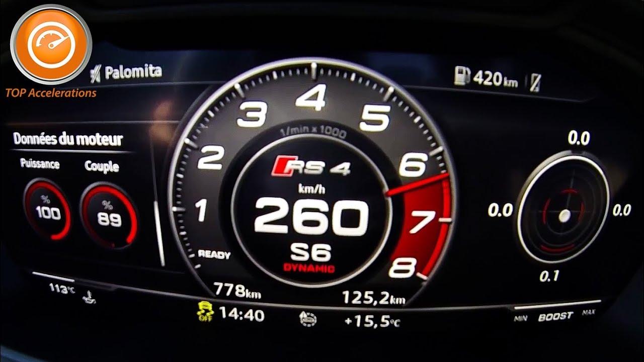 2018 Audi Rs4 Avant 450 Hp Sound Acceleration 0 260 Km H