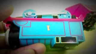 THOMAS vs STEPHEN THE ROCKET Thomas and Friends Trackmaster Engines Thumbnail