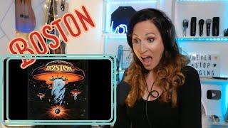 Vocal Coach Reacts - Boston - More than a feeling