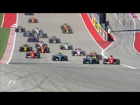 2017 US Grand Prix: Race Highlights