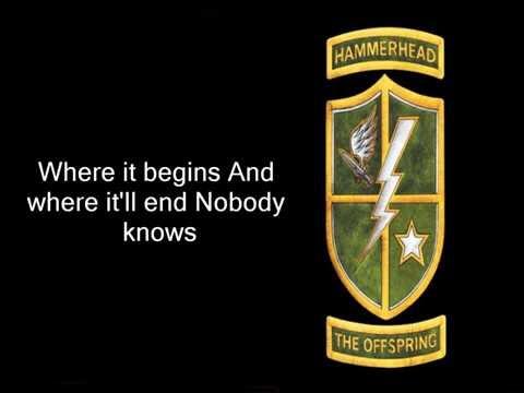 The OffspringHammerheadLyrics