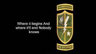 The Offspring-Hammerhead(Lyrics)