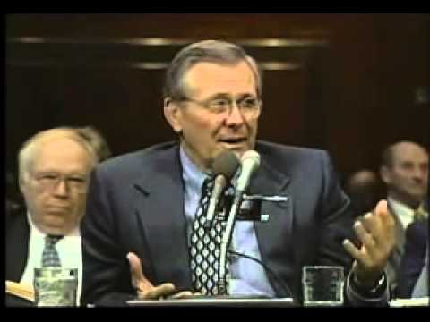 2 3 TRillion Dollars Missing from DOD Day before 911 2001 Rumsfeld LIES