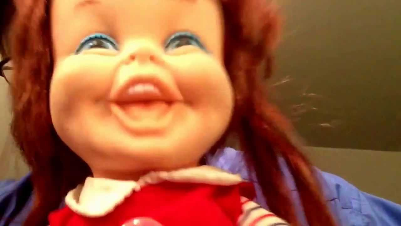 Evil Doll Baby Laugh A Lot by Remco and her batteries are ...