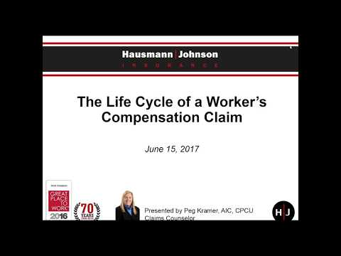 On Demand Webinar: Life Cycle of a Workers Compensation Clai