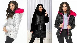 💙❄Women Winter Puffer Jackets. Winter Street Style Lookbook.