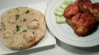 Garlic naan recipe.