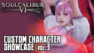 Soul Calibur 6: Custom Character Showcase Vol.3