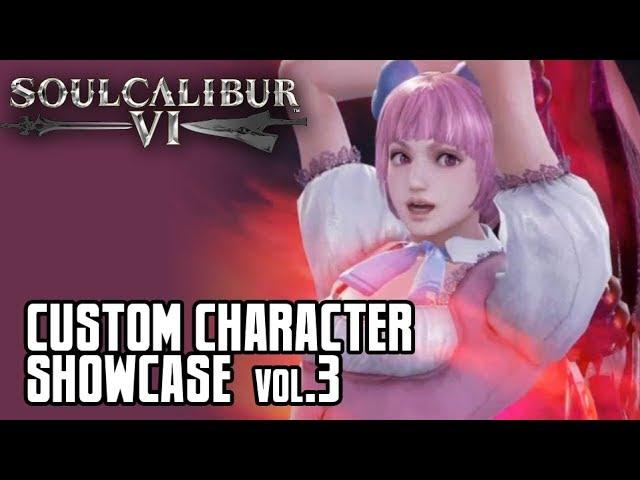 Soul Calibur 6: Custom Character Showcase Vol.3
