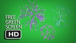 Free Green Screen - Firework #4 Animated