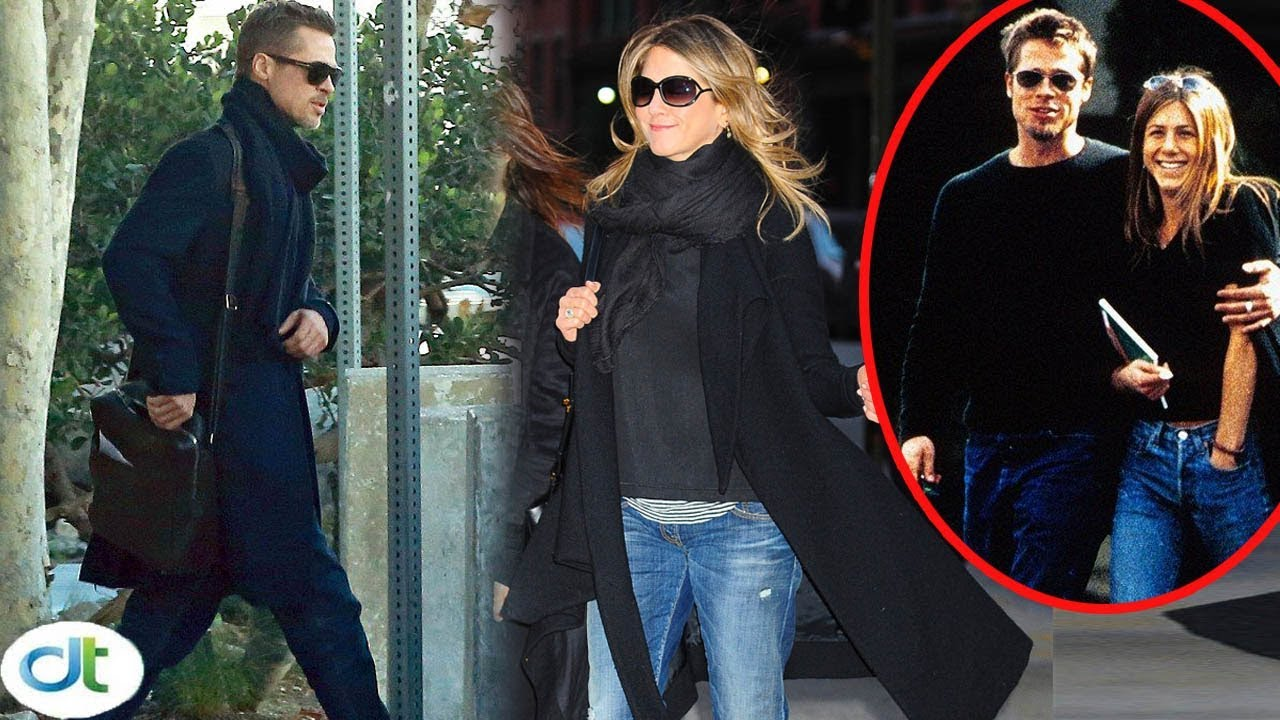 Jennifer Aniston Enjoyed A Happy Holiday With Brad Pitt After Ignoring Prevent Of Her Friends Youtube