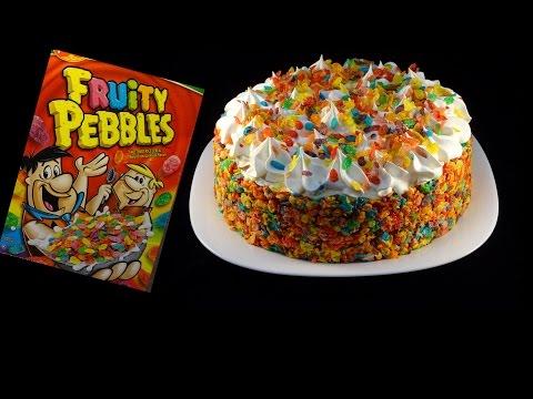 Fruity Pebbles No-Bake Cheesecake - with yoyomax12