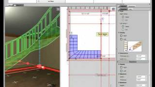 3d Home Design By Livecad Tutorials 20 L-shaped Staircases