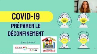 COVID-19 - Préparer le déconfinement = apprentissage des gestes d'autonomie (se laver les mains)