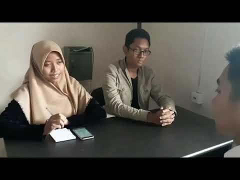 Contoh Wawancara Kerja Job Interview Youtube