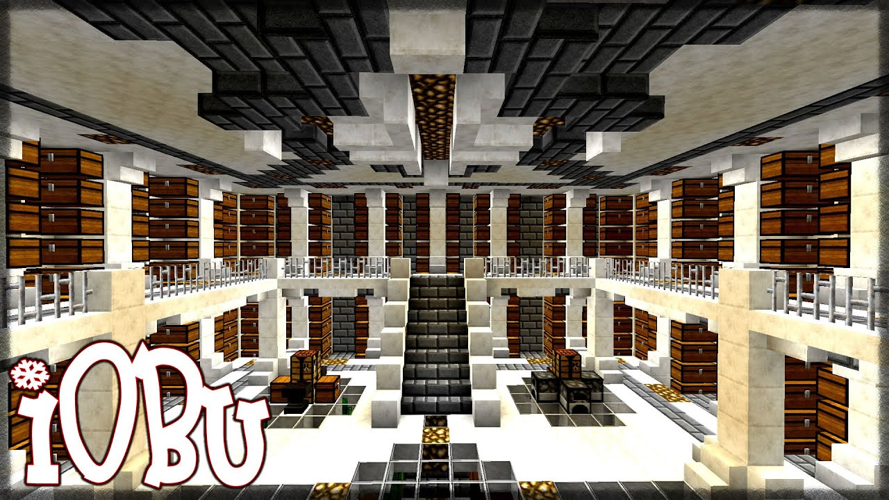 Minecraft Quartz Room Design