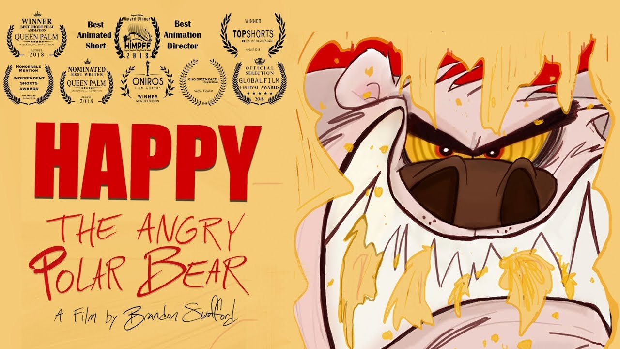 Happy the Angry Polar Bear - Award-Winning Short Starring Ken Swofford