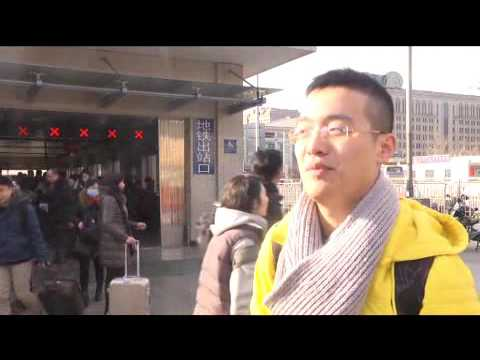 China Spring festival transports