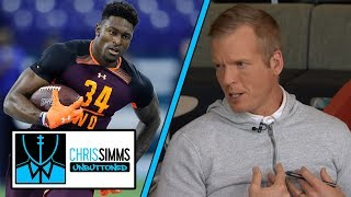 NFL Draft 2019: Chris Simms' Top 5 Wide Receiver Rankings | Chris Simms Unbuttoned | NBC Sports