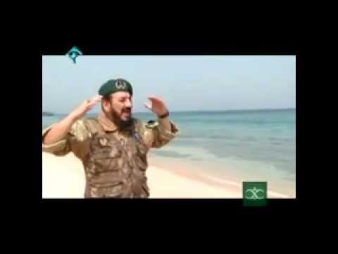 Iran IRGC Navy special forces (SNSF) fighting pirates نبرد نيروهاي ويژه سپاه ايران با دزدان دريايي