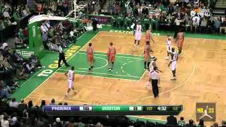 Marcin Gortat Highlights vs.Boston Celtics 1/20/2012 - 14 Consecutive Points in 1st quater