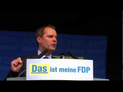 Wahlkampfauftakt der FDP-NRW - Daniel Bahr